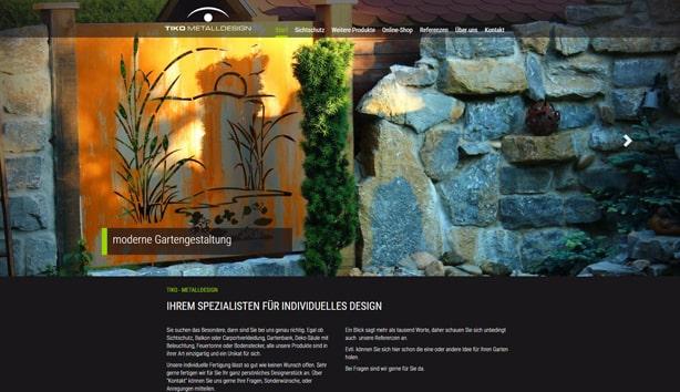 Webdesign Homepage Biberach