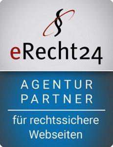 E-Recht24 Siegel Agenturpartner