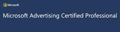 Microsoft Advertising Zertifikat vergrößert